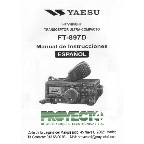 Manual de Instrucciones FT-897D