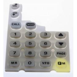 Goma teclado FT-11