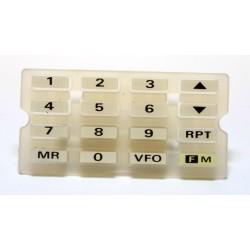 Goma teclado FT-411