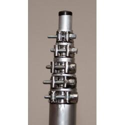 Mástil Telescópico Aluminio ASP-MT13