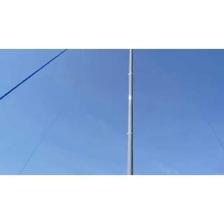 Mástil teléscopico Dx-Wire GFK-15X