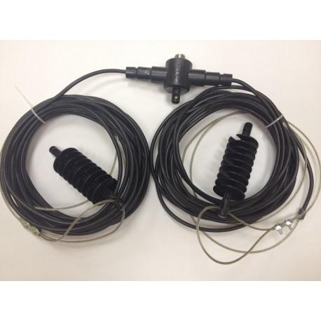 Antena Dipolo Bazooka ASP DB-40