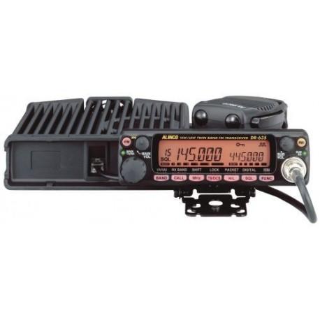 Transceptor Móvil VHF/UHF Alinco DR-635E