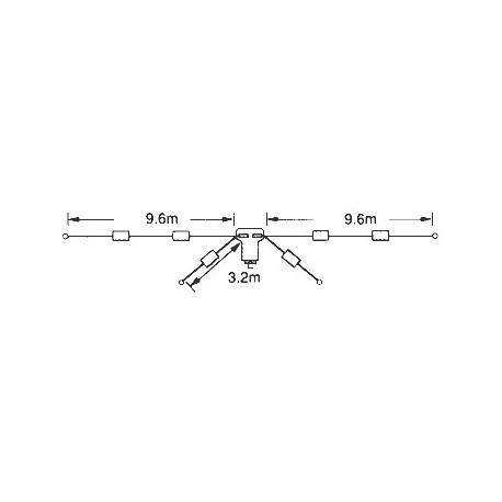 Antena dipolo HF Diamond W-8010