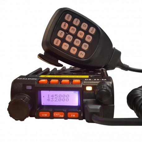 Emisora VHF/UHF bibanda Maldol DB-25M