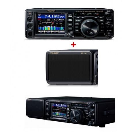Pack Emisora HF Yaesu FT-991A + Altavoz Yaesu SP-10