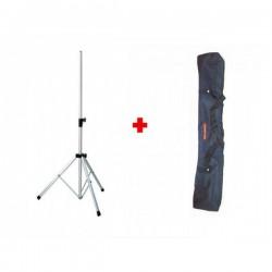 Pack Tripode telescópico para antenas TT-180 + Bolsa transporte