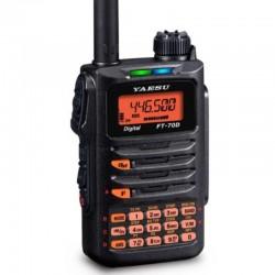 Walkie VHF/UHF bibanda Yaesu FT-70DE