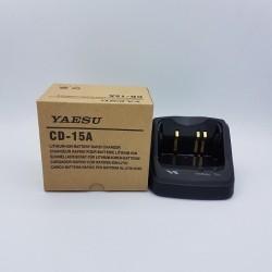 Cargador rapido baterias de litio Yaesu CD-15A