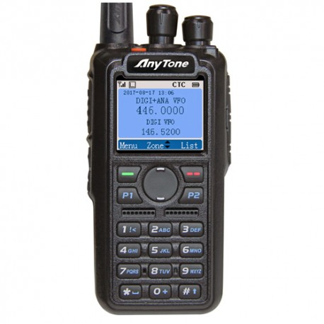 Walkie Bibanda Anytone AT-D868UV DMR y Analógico