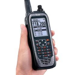 Walkie Banda aérea Icom IC-A25NE con GPS