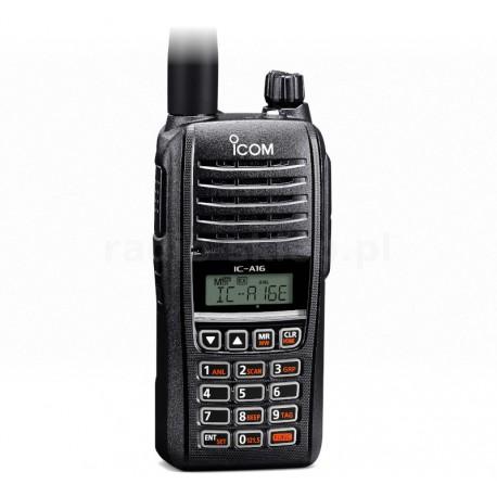 Walkie Banda aérea Icom IC-A16E