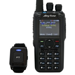 Walkie Bibanda Anytone AT-D878UV Plus con Bluetooth