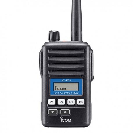 Walkie ICOM IC-F61 ATEX UHF