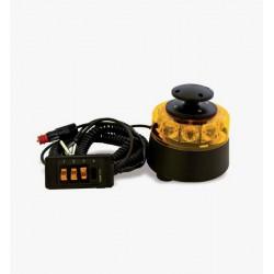 Piloto magnético de Led con Amplificador Sirena y Altavoz sin megafonía
