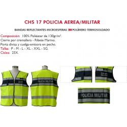 Chaleco A.V. Policia Aérea / Militar CHS 17