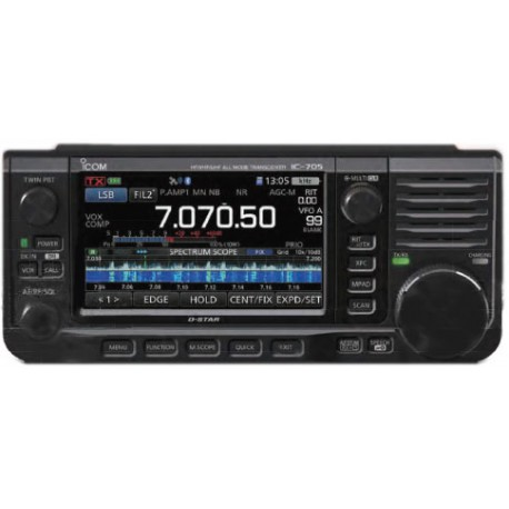 Emisora Transceptor Multibanda 50hz Icom IC-705
