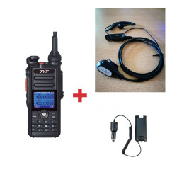 Pack Walkie DMR Digital TYT MD-2017 + Micro/auricular + Eliminador de batería