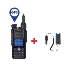 Pack Walkie DMR Digital TYT MD-2017 GPS + Eliminador de batería