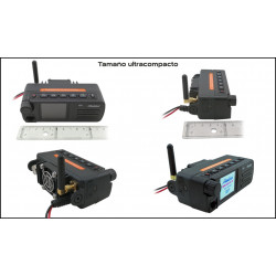 Emisora VHF/UHF bibanda Maldol DBD-25UV-M